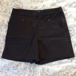 St Johns Bay Black Shorts